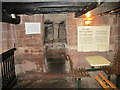 SJ4066 : Entrance to the Hypocaust in the cellar of 39 Bridge Street (Spudulike), Chester by Jeff Buck