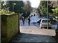 SK5337 : Beeston Lane, University West Entrance by Alan Murray-Rust