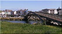 SN4562 : Wooden footbridge by chris whitehouse