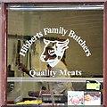 SJ9594 : Quality Meats - Butchers' Window by Gerald England