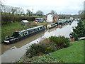 SO9970 : Worcester & Birmingham Canal - boatyard by Chris Allen