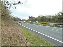 SO9969 : A448 towards Redditch by Chris Allen