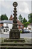 TQ4855 : Cross, Coronation Gardens by Ian Capper
