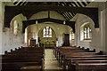 TQ6344 : Interior, St Thomas à Becket church, Capel by Julian P Guffogg