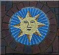 TL3800 : Pavement mosaic, Waltham Abbey by Jim Osley
