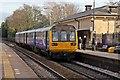 SJ4490 : Northern Rail Class 142, 142044, Huyton railway station by El Pollock