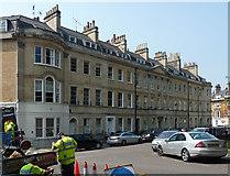 ST7465 : 38-45 St James's Square, Bath by Stephen Richards
