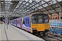 SJ3590 : Northern Rail Class 150, 150144, Liverpool Lime Street railway station by El Pollock