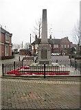 SK0418 : War Memorial, Rugeley by Tricia Neal