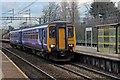 SJ3986 : Northern Rail Class 156, 156428, West Allerton railway station by El Pollock