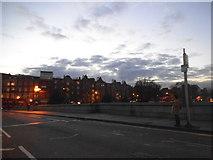 TQ2475 : Putney Bridge overlooking Lower Richmond Road by David Howard