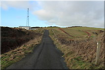 NW9954 : Southern Upland Way near Portpatrick by Billy McCrorie