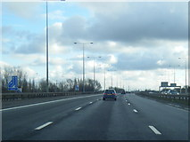 SJ7993 : M60 anti-clockwise at Junction 7 by Colin Pyle