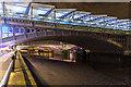 TQ3180 : Under the Bridges of London, South Bank, London, SE1 by Christine Matthews