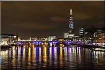 TQ3280 : Southwark  Bridge from the Millennium Bridge, London, SE1 by Christine Matthews