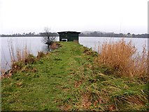 H5776 : Fisherman's hut, Loughmacrory by Kenneth  Allen