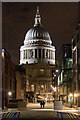 TQ3280 : St Paul's Cathedral from the end of Millennium Bridge, London, EC4 by Christine Matthews