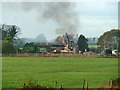 SU7604 : Demolition at Thornham Farm by Robin Webster