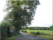 N8187 : An invitation to Bend Now on the R162 north of Nobber by Eric Jones