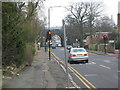 TQ2695 : Traffic Lights at the junction of Longmore Avenue, Netherlands Road and York Road by Ken Amphlett