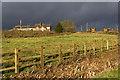 SP0448 : Tythe Barn Farm by David P Howard