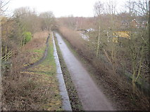 SK4480 : Killamarsh Central railway station (site), Derbyshire by Nigel Thompson