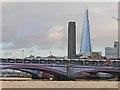 TQ3180 : Blackfriars Road Bridge and the Tate Modern by Oliver Dixon