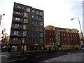 TQ3479 : Bermondsey Spa: Abbey Street development by Stephen Craven
