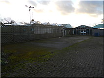 SP4476 : Church Lawford Garden Centre (Disused) by Ian Rob