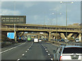 SK4735 : The M1 at Brian Clough Way by Ian S