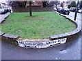 TQ7767 : Vintage street nameplates, Napier Road and Nelson Road, Gillingham by Chris Whippet