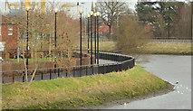 J3472 : The Lagan Walkway, Belfast - 2014 by Albert Bridge