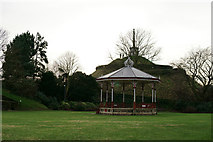 TR1457 : Bandstand in Dane John Gardens, Canterbury by Peter Trimming