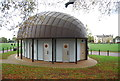 TL4558 : Toilet block, Midsummer Common by N Chadwick