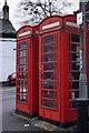 SK2168 : K6 Phone Kiosks, North Church Street by Peter Barr