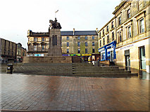 NS4864 : Paisley war memorial by Thomas Nugent