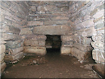 HY6737 : Chambered tomb at Quoyness by Greg Fitchett