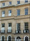 ST7565 : Detail of 101-102 Sydney Place, Bath by Stephen Richards