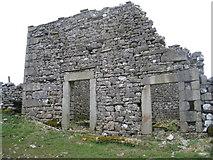 SD8172 : Ruined barn on Horton Scar Lane by John S Turner