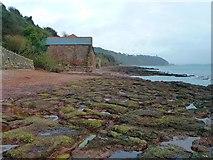 SX4350 : Former fish cellars on North Rock, Kingsand by Rob Farrow