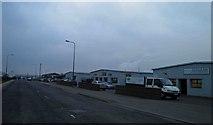 SE8912 : Industrial units on Warren Road, Scunthorpe by Steve  Fareham