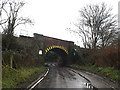 TM2547 : Railway Bridge on Sandy Lane by Geographer