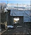 TL3854 : Bridge strengthening at Comberton Road by John Sutton