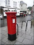 SX3384 : Launceston: postbox № PL15 101, Town Square by Chris Downer