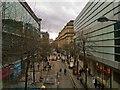 SJ8398 : Metrolink Work, Corporation Street by David Dixon