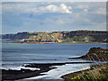 TA0884 : Lebberston Cliff across Cayton Bay by Scott Robinson
