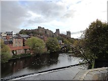 NZ2742 : Durham Castle and Cathedral from across the river by Robert Graham
