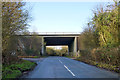 SU8590 : A404 bridge over Winchbottom Lane by Robin Webster