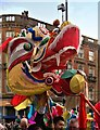 SJ8398 : Dragon Parade by David Dixon