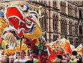 SJ8398 : Dragon on Princess Street by David Dixon